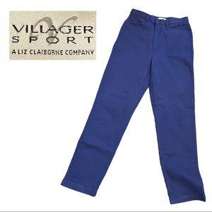 Vintage VILLAGER SPORT high waisted indigo pants